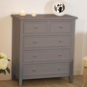 commode blanche montee