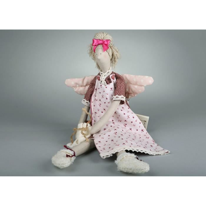 id e de cadeau pour femme jouet pour fille poup e d corative faite main achat vente objet. Black Bedroom Furniture Sets. Home Design Ideas