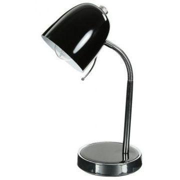 Lampe de bureau en m tal noir achat vente lampe de - Bureau metal noir ...