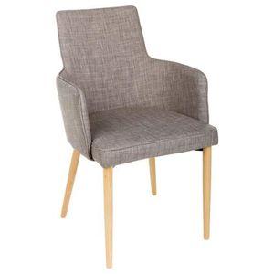 Chaises en bois et lin achat vente chaises en bois et for Chaise couleur pied bois