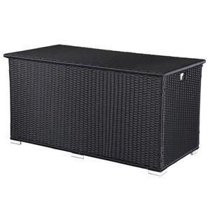 coffre rangement resine achat vente coffre rangement resine pas cher cdiscount. Black Bedroom Furniture Sets. Home Design Ideas