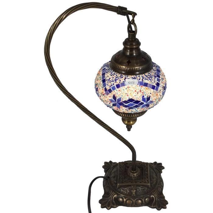 Lampe de table chevet mosa que m8 achat vente lampe de for Lampe table de chevet