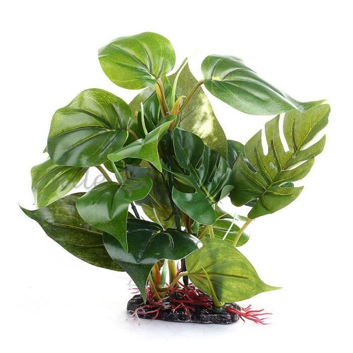 plante artificielle herbe aquatique plastique d co aquarium poisson reptile achat vente d co. Black Bedroom Furniture Sets. Home Design Ideas