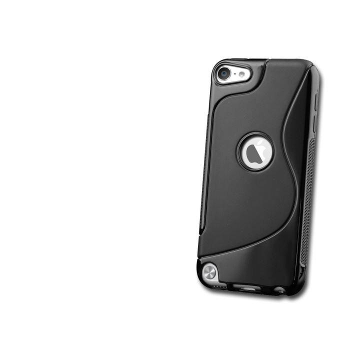 coque ipod touch 5 silicone grip noir coque mp3 mp4 avis et prix pas cher cdiscount. Black Bedroom Furniture Sets. Home Design Ideas