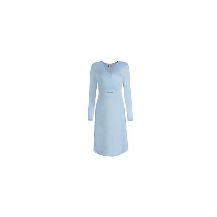 chemise de nuit chemises de nuit grossesse allaitement bleu ciel achat vente pyjama. Black Bedroom Furniture Sets. Home Design Ideas