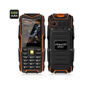 Téléphone portable Telephone robuste  etanche double sim IP67 ecran 2