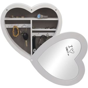 armoire a bijoux en bois achat vente pas cher cdiscount. Black Bedroom Furniture Sets. Home Design Ideas