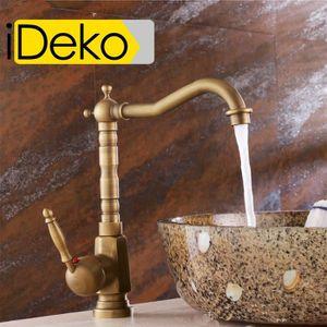 Robinet de cuisine vieux bronze achat vente robinet de - Robinetterie design salle de bain ...