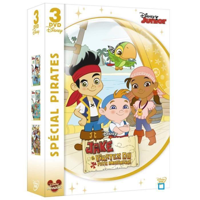 Dvd coffret sp cial pirates jake et les pirates en dvd - Jake et les pirates ...