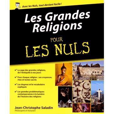Les Grandes Religions Pour Les Nuls Achat Vente Livre