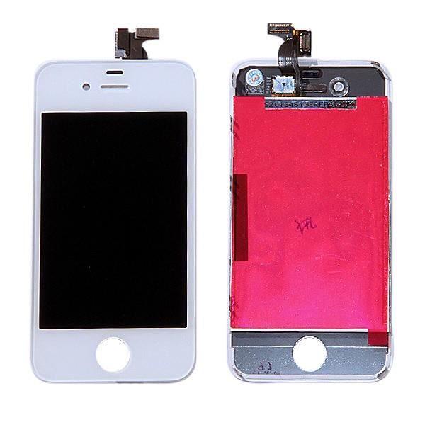 ecran lcd vitre tactile iphone 4s de qualite originale blanc achat pi ce t l phone pas cher. Black Bedroom Furniture Sets. Home Design Ideas
