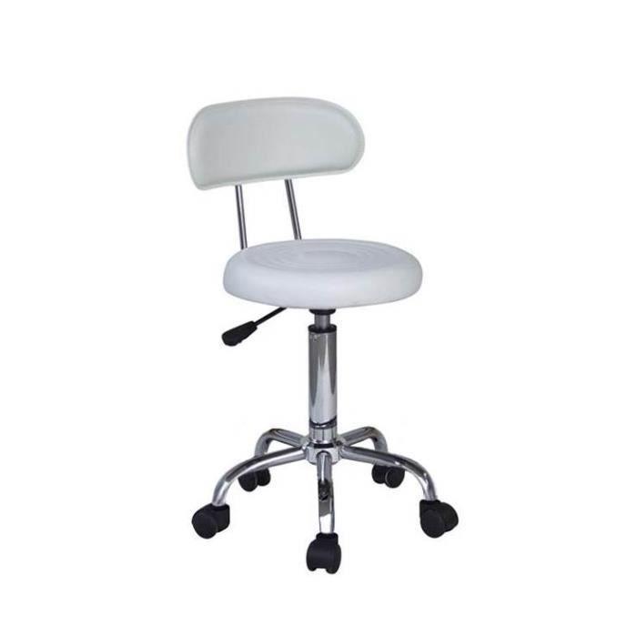 si ge mod le stalindgrad blanc achat vente chaise de bureau blanc cdiscount. Black Bedroom Furniture Sets. Home Design Ideas