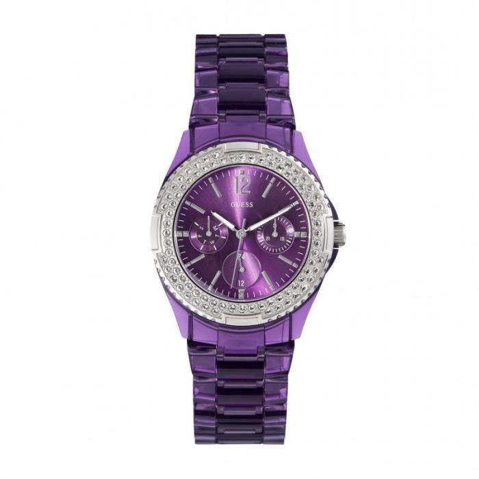 Montre femme guess nouvelle collection 2015 violet - Montre guess homme nouvelle collection ...