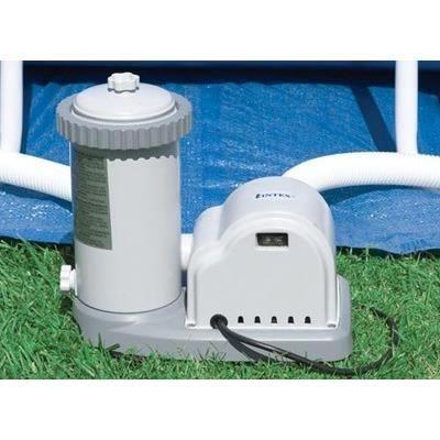 filtre epurateur a cartouche 5 7 m3 h intex achat vente entretien de piscine filtre. Black Bedroom Furniture Sets. Home Design Ideas