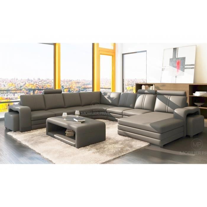 canap d 39 angle en cuir italien 8 places diamant achat vente canap sofa divan canap d. Black Bedroom Furniture Sets. Home Design Ideas