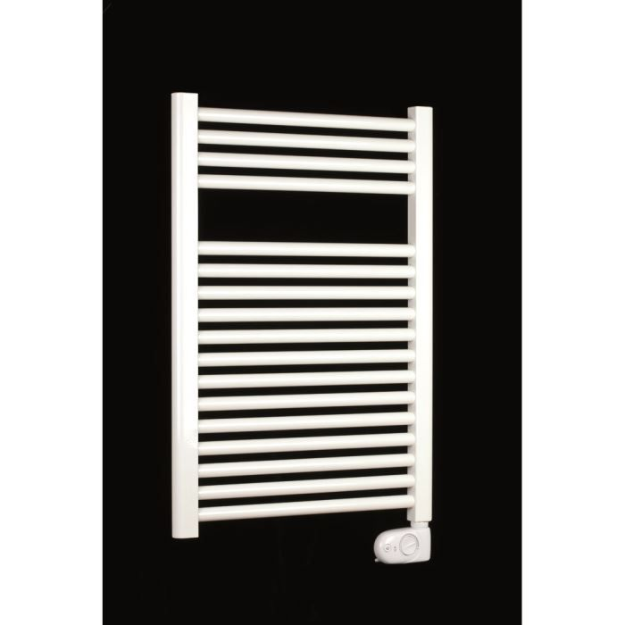 s che serviette tubes ronds blanc caresse 500w radiateur. Black Bedroom Furniture Sets. Home Design Ideas