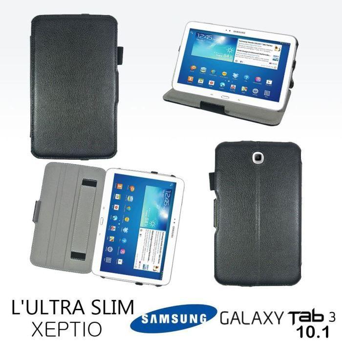 informatique accessoires tablettes tactiles housse samsung galaxy tab  pouces noir f xep