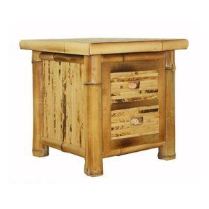 table de chevet bambou achat vente table de chevet. Black Bedroom Furniture Sets. Home Design Ideas