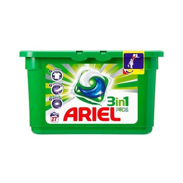 Ariel pods 27 tabs r gulier x3 achat vente balle de lavage ariel pods 2 - Tollens prix au litre ...
