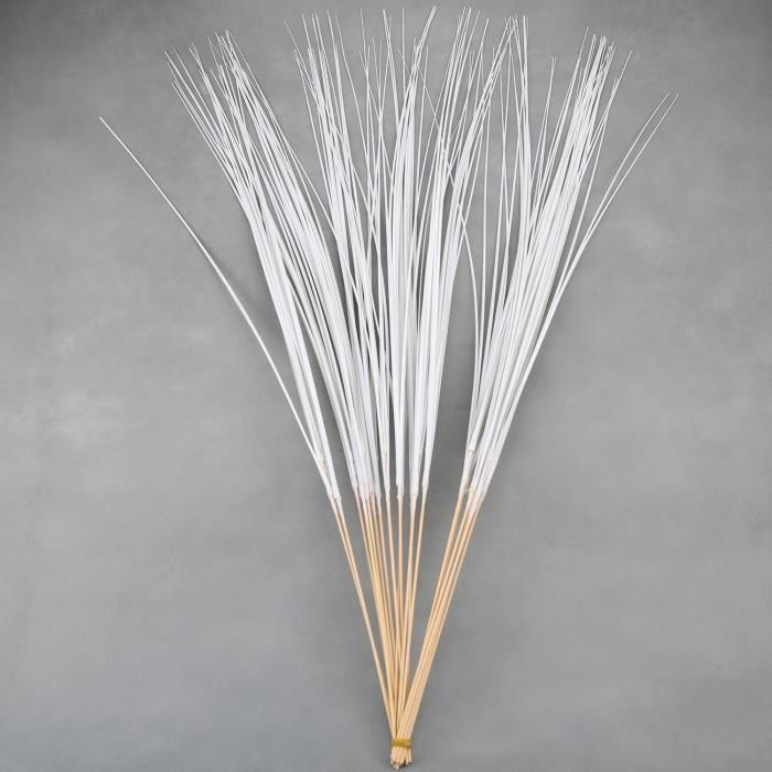 100 tige de 8 brindille d 39 herbe d co bouquet dfb1 achat for Tiges de bambou deco