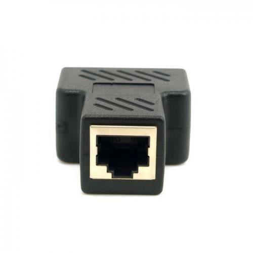 chenyang cat6 rj45 8p8c connecteur double rj45 splitter. Black Bedroom Furniture Sets. Home Design Ideas