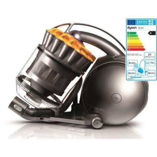 Dyson aspirateur sans sac dc33c home parquet achat for Housse aspirateur