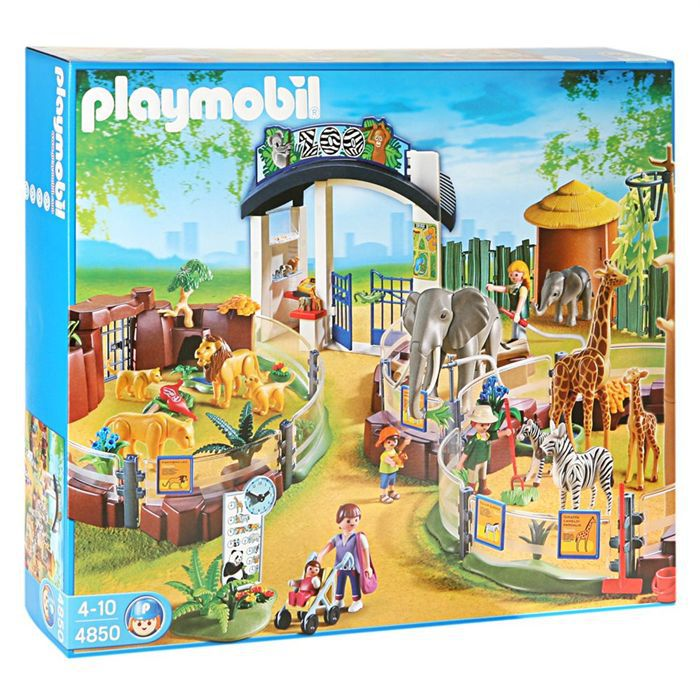 playmobil 4850 grand zoo achat vente univers miniature. Black Bedroom Furniture Sets. Home Design Ideas