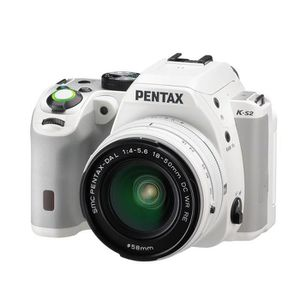 PENTAX K-S2 + DAL 18/50 WR Blanc Appareil photo Reflex