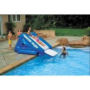 Toboggan pour piscine achat vente jeux et jouets pas chers for Toboggan piscine gonflable