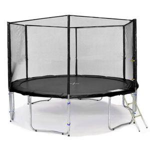 trampoline 420 cm achat vente jeux et jouets pas chers. Black Bedroom Furniture Sets. Home Design Ideas