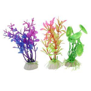 plantes artificielles aquarium discount