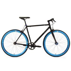 """VÉLO DE COURSE - ROUTE Vélo fitness fixie 28"""" Pegado noir TC 59 cm"""