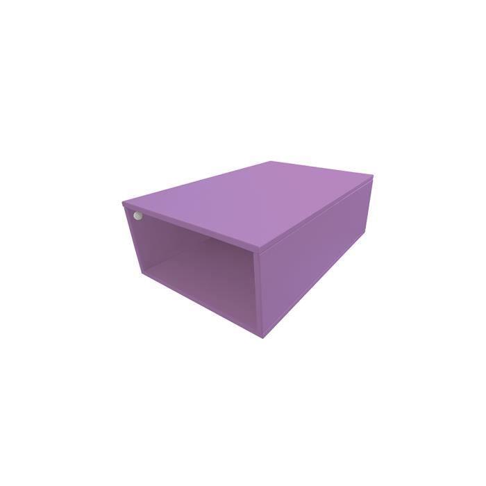 cube de rangement bois largeur 75 cm achat vente petit meuble rangement cube de rangement. Black Bedroom Furniture Sets. Home Design Ideas