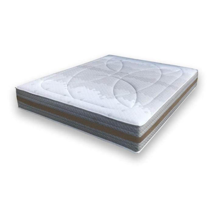 alitea matelas aeronature spring 600 visco 80x190 ressorts. Black Bedroom Furniture Sets. Home Design Ideas