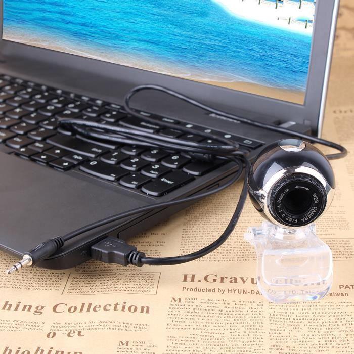 usb 50 0 hd cam ra web cam avec micro pour pc de bureau. Black Bedroom Furniture Sets. Home Design Ideas