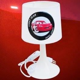 kikoucoeur lampe de chevet cars blanc achat vente. Black Bedroom Furniture Sets. Home Design Ideas