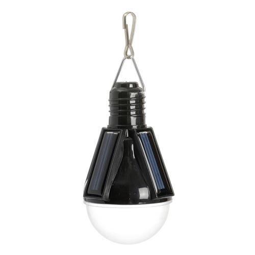 Lampe solaire suspendre ampoule noir achat vente for Lampe exterieur a suspendre