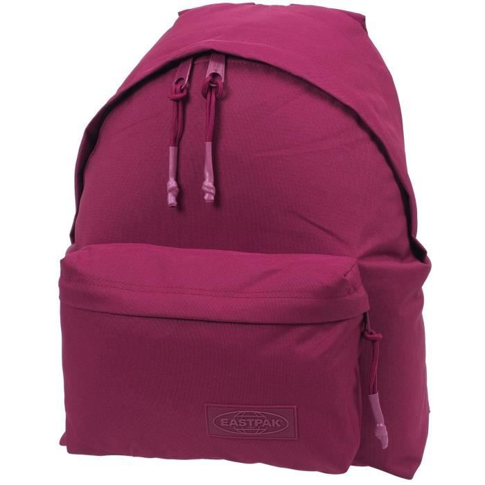 sac dos coll ge padded merlot not matchy eastpak uni bordeaux achat vente sac dos. Black Bedroom Furniture Sets. Home Design Ideas