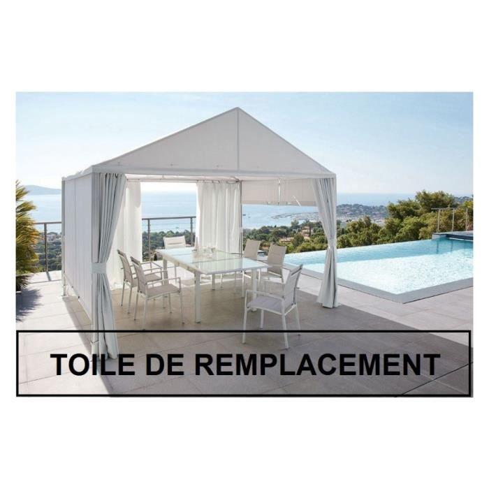 Toile De Remplacement Pour Tonnelle Carree Tahiti Toile