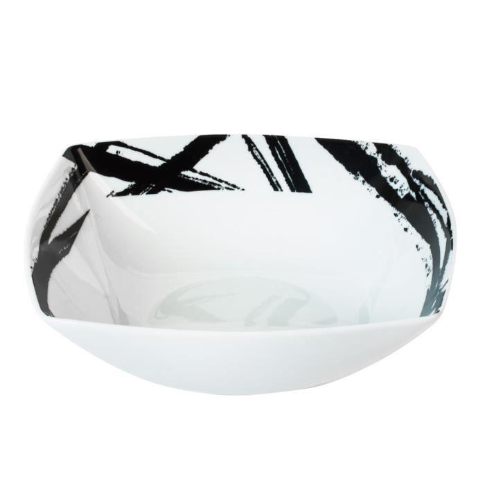 assiette creuse noir achat vente assiette creuse noir pas cher les soldes sur cdiscount. Black Bedroom Furniture Sets. Home Design Ideas
