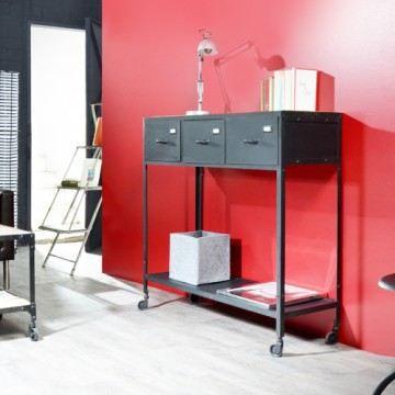 Console en m tal 110 industriel achat vente console console en m tal m ta - Console metal industriel ...