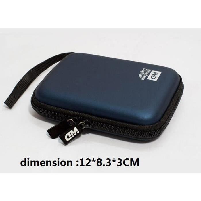 etui sac housse pochette de protection portable antichoc pour hdd disque dur externe 2 5 prix. Black Bedroom Furniture Sets. Home Design Ideas