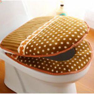 Housse de si ge de toilette coussin tachet caf - Housse abattant wc ...