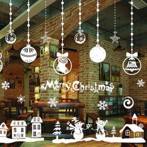 Decoration vitre noel achat vente decoration vitre for Decoration fenetre electrostatique noel