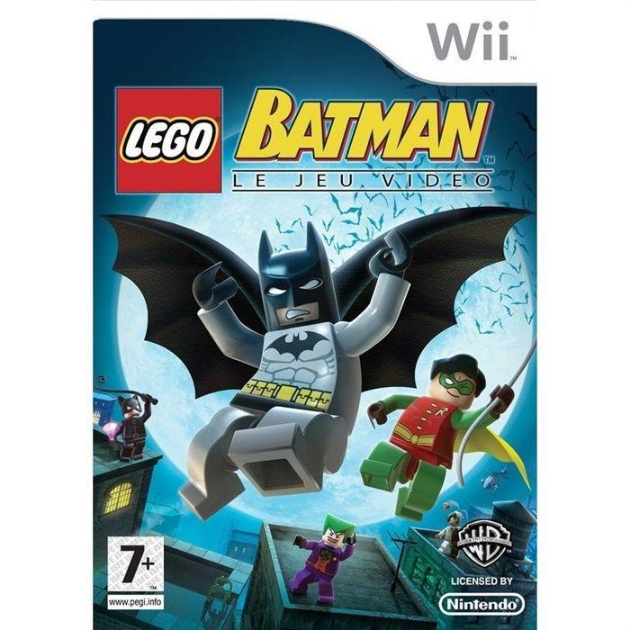 LEGO BATMAN JEU CONSOLE Wii Achat Vente Jeux