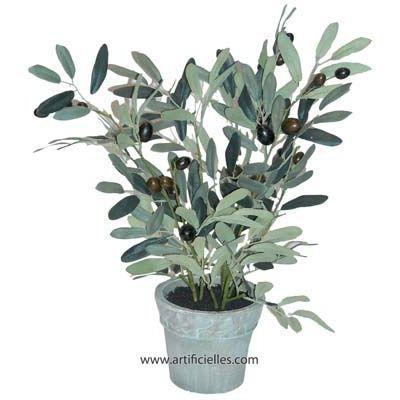 olivier artificiel en pot d co h 43 cm superbe achat vente fleur artificielle s ch e. Black Bedroom Furniture Sets. Home Design Ideas