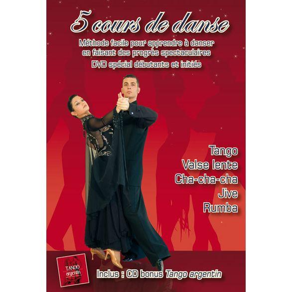 dvd cours de danse tango valse lente cha ch en dvd film pas cher cdiscount. Black Bedroom Furniture Sets. Home Design Ideas