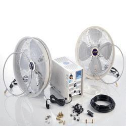 Brumisateur althea 4 avec 4 ventilateurs achat vente brumisateur d 39 ext rieur brumisateur - Ventilateur avec brumisateur ...