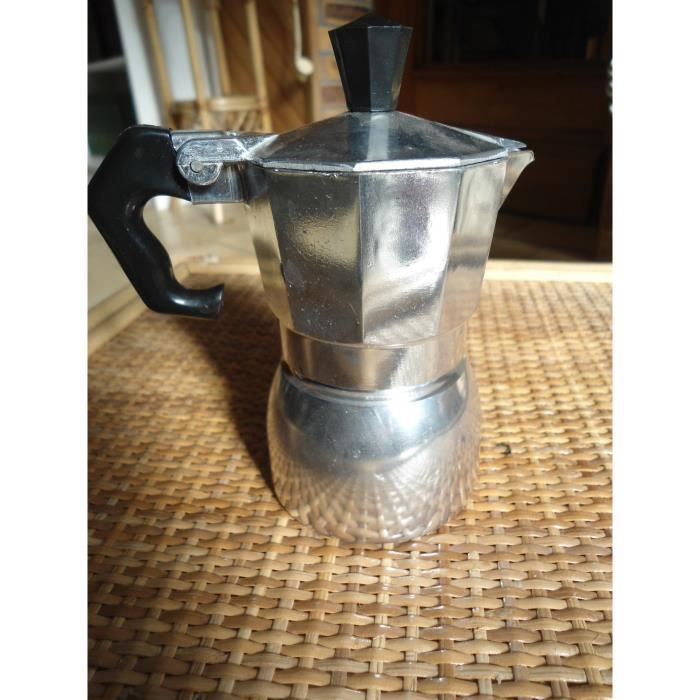 Cafetiere italienne expresso 1 tasse gris alu top achat vente cafeti re th i re cdiscount - Cafetiere italienne 1 tasse ...