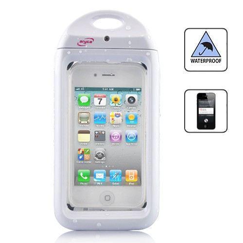 Housse tanche pour iphone 4 4s blanche achat vente for Housse etanche pour iphone